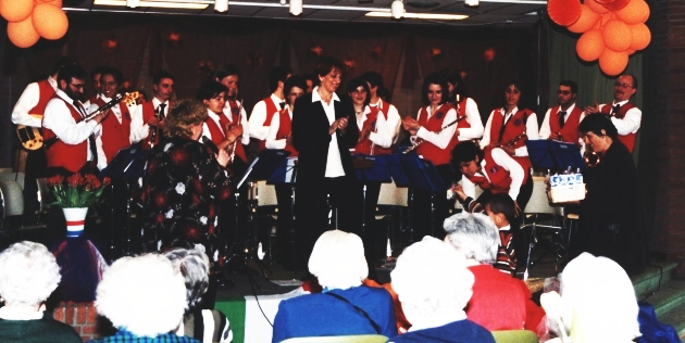 Tournèe in Olanda 2002